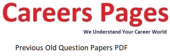 UPSC APFC Previous Old Question Papers