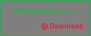 BITS HD Syllabus