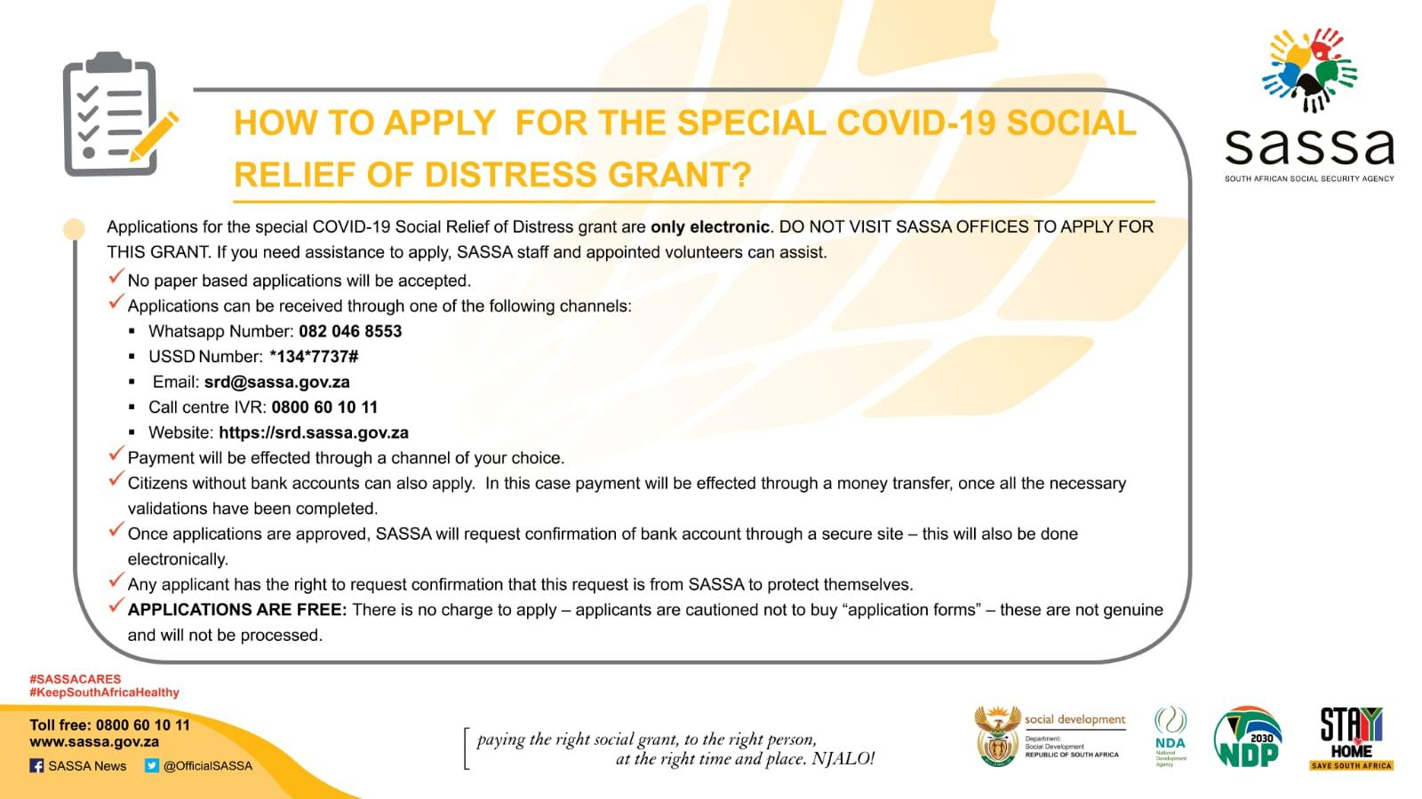 How to Apply for Social Relief of Distress