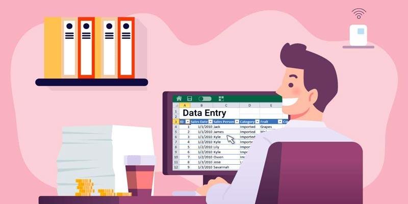 Image result for data entry