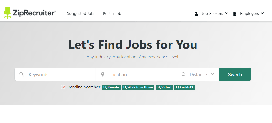 See How to Find a Job with ZipRecruiter