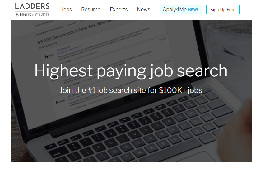 Ladders – Search for the Highest Paying Jobs