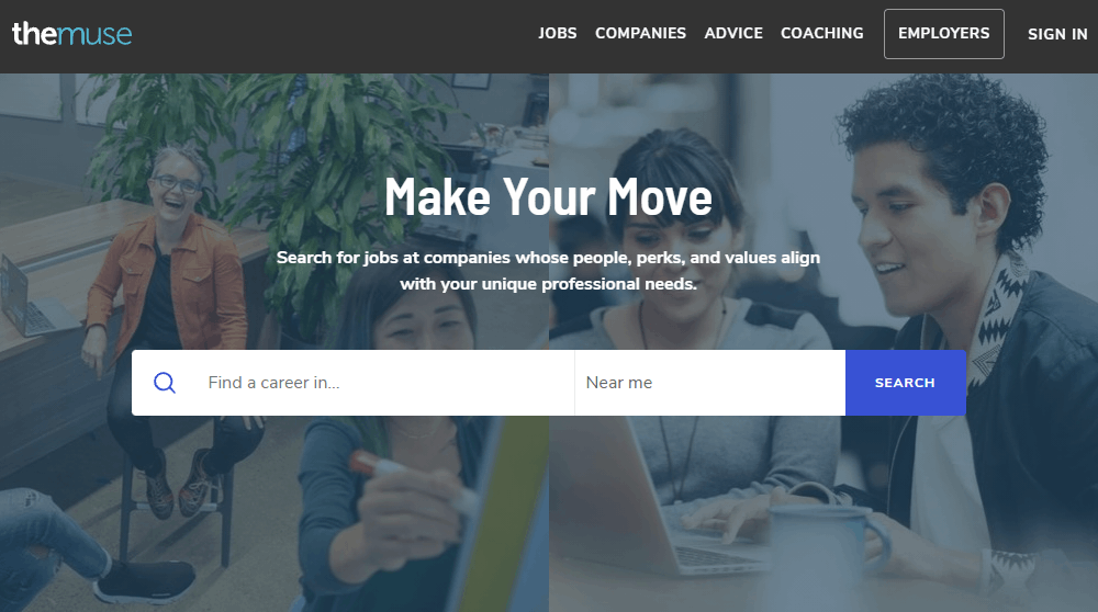The Muse – Find Jobs Online