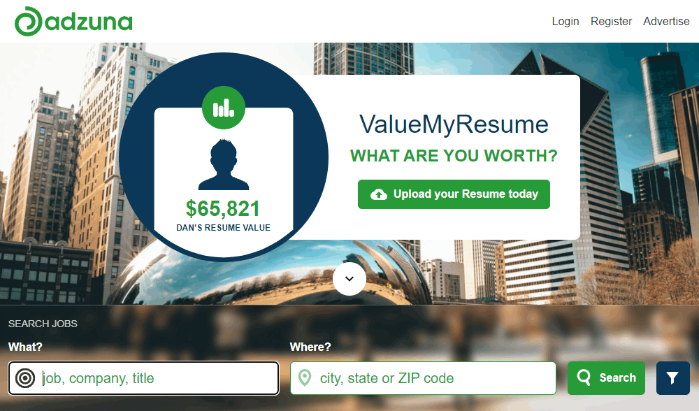 Search Online for Jobs with Adzuna