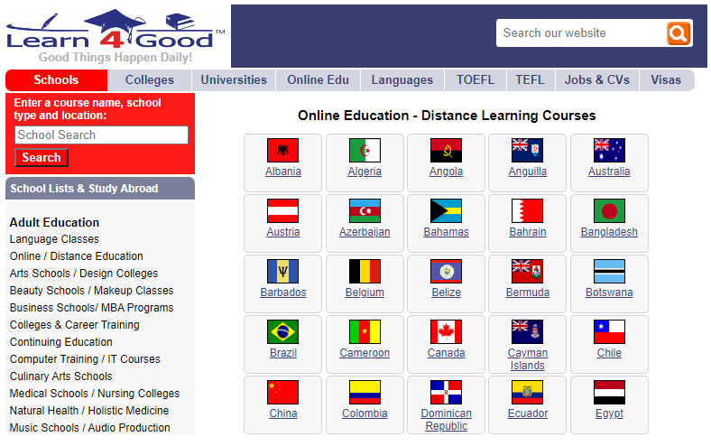 Find Jobs with Learn4Good